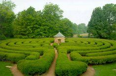 Serenity in the Garden: Labyrinths