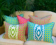 NEW Palm Beach Collection Additions Coming in May!  Exclusively at Coastal Home Pillows