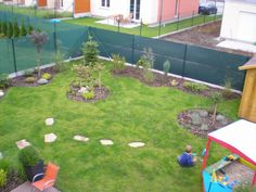 Zahrada u řadového domu