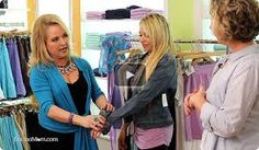 Fashion Consultant, Lori Ann Robinson, has great advice on buying the bra that's right for you -- & empowering!  Take a lightweight t-shirt when you try on a bra to make sure the shape is right. Bra styles can get discontinued without notice. Get as many bras as you can afford if you find a style that is perfect for you.  http://radiomd.com/show/her/item/34634-lingerie-sexy-empowerment?utm_source=&utm_medium=&utm_campaign=SocialPosts