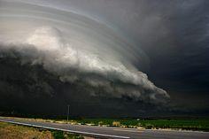 Massive storm near North Loup, Nebraska (July 12, 2004)