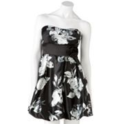 Speechless Floral Bubble Tube Dress