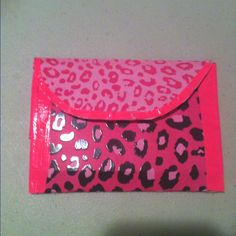 Duct tape wallet, make these ALL the time :)
