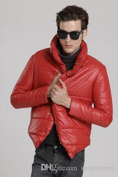 2015 autumn and winter New Men's Fashion Thick Coat Casual Men's Down Jacket style Cotton Stand collar men's jacket
