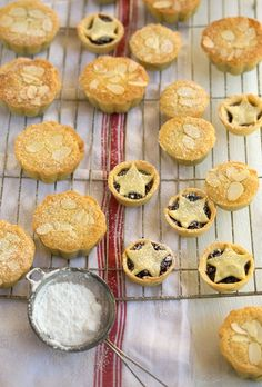 Frangipane mince pies with a zesty orange pastry | Drizzle and Dip