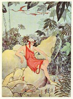 Tanglewood Tales, illus. by Missouri-born Virginia Frances Sterrett