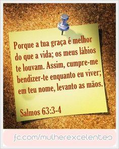 Salmos 63: 3-4