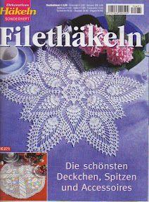 Dekoratives Hakeln Sonderheft - DE 271 Filethekeln - Kristina Dalinkevičienė - Picasa ウェブ アルバム