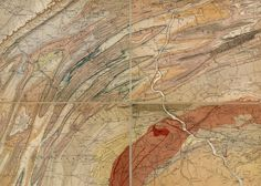 Geological Map of the State of Pennsylvania 1858