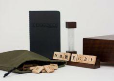 2ème édition du « Scrabble Typography » pensée par Andrew Capener.