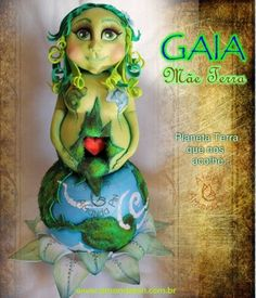 Gaia a mãe terra - Pesquisa Google Gaia, Princess Zelda, Fictional Characters, Mother Earth, Nature, Fantasy Characters
