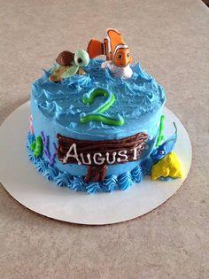 Finding Nemo Smash Cake made by Sugar Grubbin'
