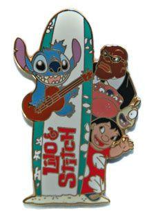 Lilo and Stitch  :) ||  Walt Disney Pins, Trading Disney Pins, Value Of Disney Pins | PinPics