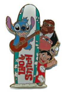 Lilo and Stitch  :) ||  Walt Disney Pins, Trading Disney Pins, Value Of Disney Pins | PinPics