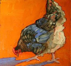 Farm Blog: More chicken paintings!