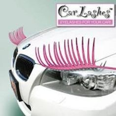 Headlight Eyelashes make your car stand out in a crowd. Different designs and colors to choose from to make your car your own. Get creative and have fun!