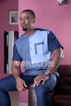 Ace menswear fashion designer Vanskere is out with its new classic collection. The signature style of Vanskere is made bold in these designs for the - BellaNaija Style. Latest African Men Fashion, African Wear Styles For Men, Ankara Styles For Men, African Shirts For Men, Nigerian Men Fashion, African Dresses Men, African Attire For Men, African Clothing For Men, African Print Fashion