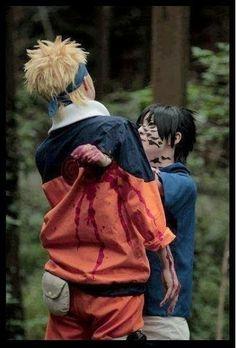 #Naruto and #Sasuke #Cosplay