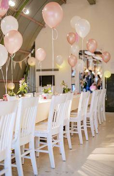 Mooie tafel decoratie voor op jouw event