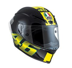 AGV Corsa VR46 Black Helmet: http://www.championhelmets.com/en/agv-corsa-vr46-black-helmet.html
