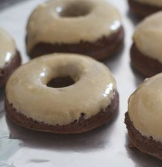Recipe for Baked Espresso Brownie Doughnuts,,,,okay with a name like this it has to be good,,,right?!