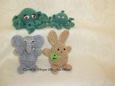 Baby Octopus Pattern: Amigurumi tutorial, crochet animals, free pattern - CROCHET
