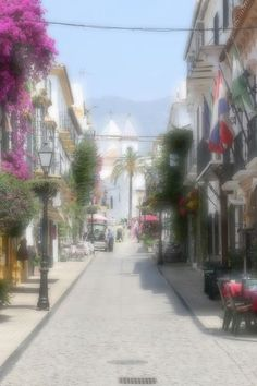 Marbella is a city in southern Spain on the Costa del Sol in Malaga province. The province belongs to the Autonomous Community of Andalusia. Fine Art Amerika, Kos, Street View, Wall Art, Poster, Marbella Spain, Teneriffe, Pictures, Aries