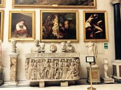 Display of Caravaggio paintings in Galleria Doria-Pamphili, Rome