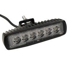 Car Truck 18W 6 SMD LED Work Light Bar Reversing Spot Worklight Lamp for Jeep Boat 4WD 12V 24V Hot Selling