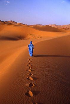 Als kind ben ik in een tent van Touaregs geweest in de Sahara.