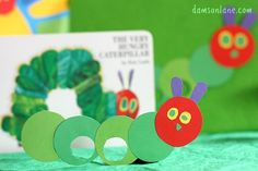 The Very Hungry Caterpillar Finger Puppets