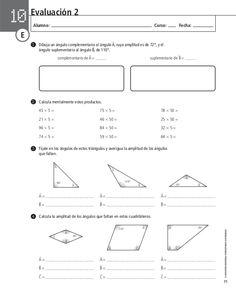 205700177 evaluacion-de-matematica Diagram, Chart, Map, Middle School Maths, Math Test, Math Books, Location Map, Cards, Maps