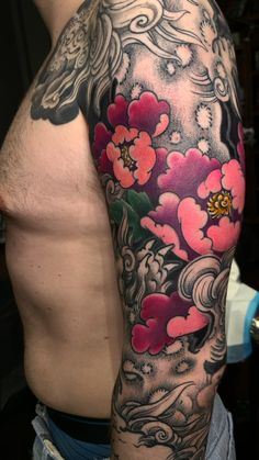 Japanese tattoo Tattoo portfolio by George Bardadim. 30 years of experience in Japanese style of tattooing all over the world ッNOW based in NYCッ