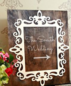 Large Wooden Wedding Sign Wedding Direction Sign via Etsy Fall Wedding, Our Wedding, Wedding Ideas, Wedding Direction Signs, Wedding Directions, Graduation Party Favors, Wedding Events, Weddings, Wooden Wedding Signs