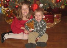 Here are my two kiddos, Maddie and Jamison.  I'm super crazy about them...