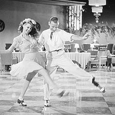 Rita Hayworth and Fred Astaire - dance