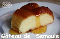 Gâteau de Semoule avec ou sans thermomix