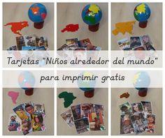 Un imprimible gratis para aprender diversidad y geografía.