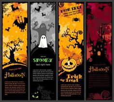 halloween | Halloween vertical banners ハロウィン かぼちゃ 縦バナー ...