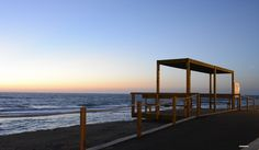Viewing-point of the sea