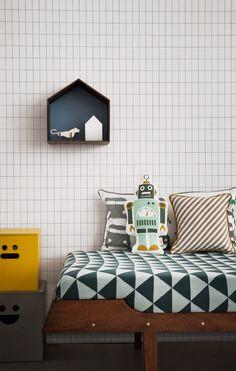 Tapete Grid - Designtapete von Ferm Living-1553