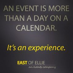 Words we live and breathe by #eoe #eventprofs #causemarketing