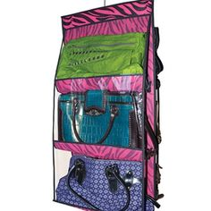 I found this awesome product on HalfOffDeals.com and got 2% off for sharing it! Fun & Fashionable 6-Pocket Hanging Purse Organizer- $18.50 with Free Shipping #HalfOffDeals