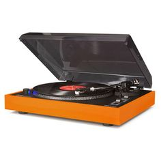 Advance Turntable Orange, $149.95, now featured on Fab.