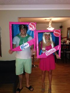 Middle aged barbie and mid life crisis ken couple costume barbie and ken halloween costumes barbie costumecostume ideasdiy solutioingenieria Images