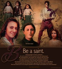 Young Saints : a challenge to the youth of today Catholic Doctrine, Catholic Quotes, Catholic Saints, Roman Catholic, Christianity, Religious Sayings, St Maria Goretti, What Is Fear, Spiritual Formation