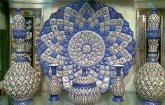 Minakari Art, handmade of iran, with 5000 years old, Ancient