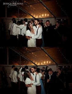 Wedding reception / First dance / Just announced Mr and Mrs / Pure happiness / Guests / dancing / fairy lights /