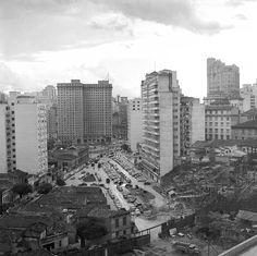 Abertura da Avenida 23 de Maio, anos 1940