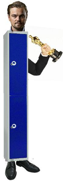Here's Leonardo Dicaprio Winning a Award For Best Looking Locker Lockers For Sale, School Lockers, Leonardo Dicaprio, Workplace, How To Look Better